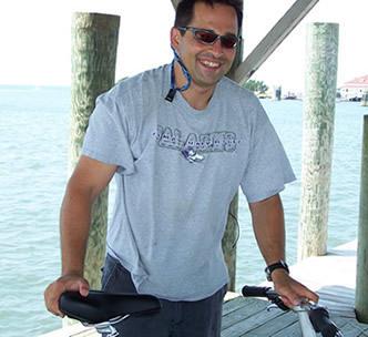 Yan on Ocracoke Island